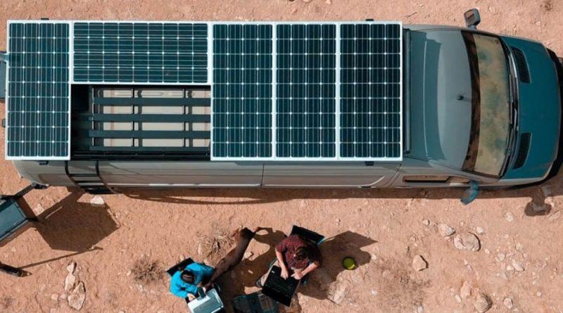 camping car panneau solaire
